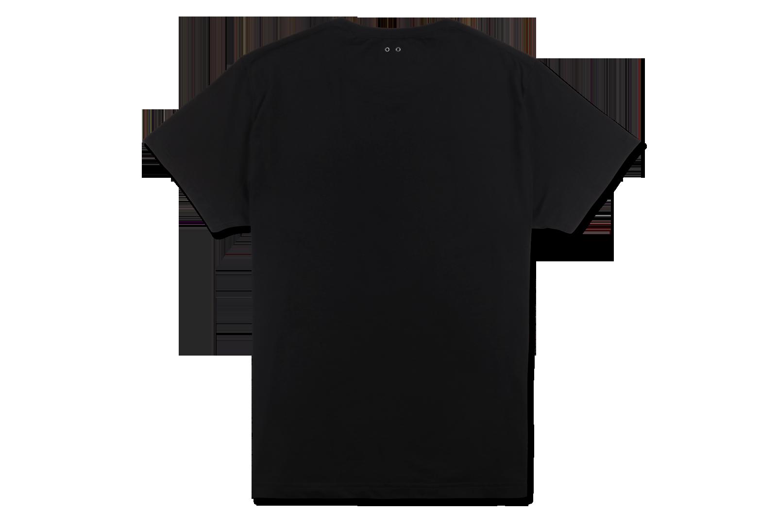 星箭logo短袖图案t恤,款式简约自然