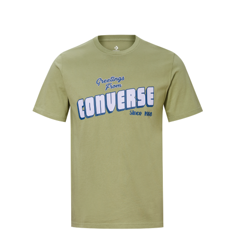 匡威converse 【男的】Converse Greetings SS Tee10019604315绿色